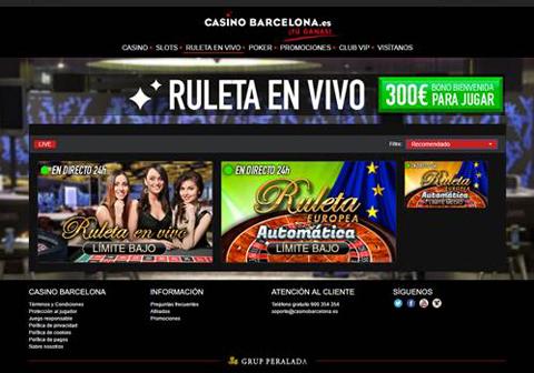 casinos online con ruleta en vivo