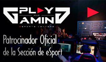 Play and Gaming - Patrocinador Oficial de la Sección de eSports