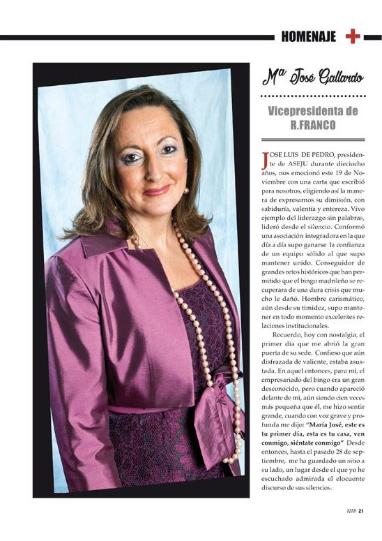 María José Gallardo