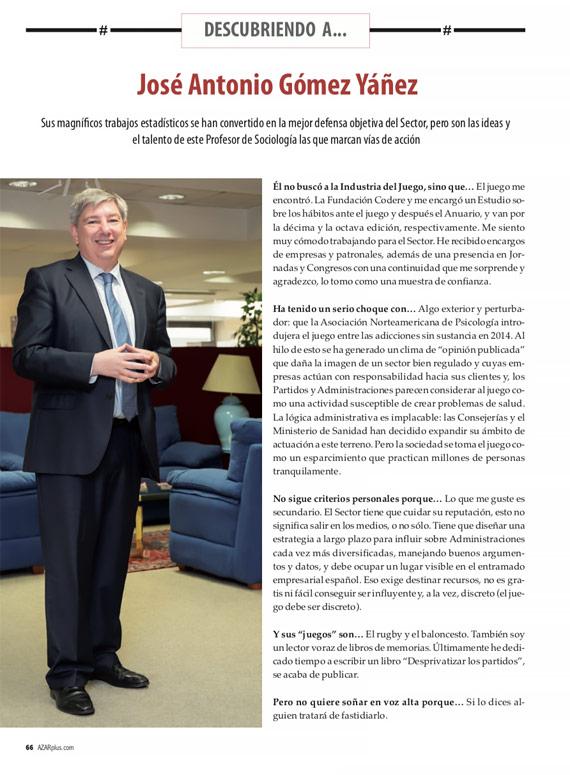 Jose Antonio Gómez Yáñez