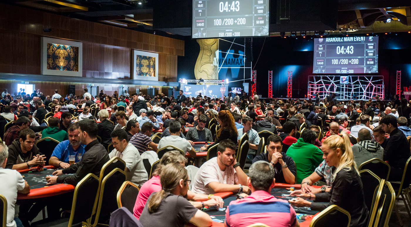 Primera Etapa del WINAMAX POKER TOUR en el Gran Casino Aranjuez
