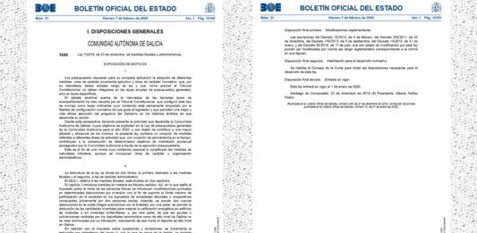 Ley del Juego Galicia