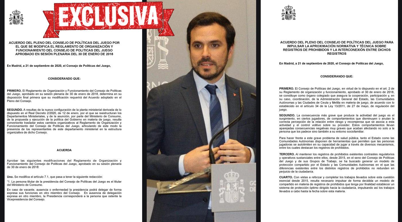 Imagen publicada el 21 de septiembre en AZARplus que acompañaba a la EXCLUSIVA en la que adelantábamos los textos de los acuerdos que finalmente se aprobaron en el CPJ