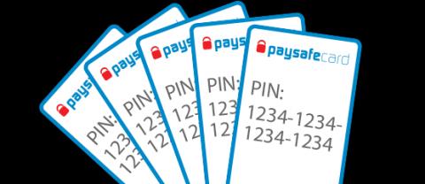 Säkerhet information om Paysafecard
